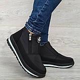 Женские ботинки зимние - кроссовки на меху (Бт-5ч-3), фото 5