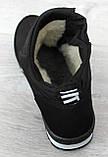 Женские ботинки зимние - кроссовки на меху (Бт-5ч-3), фото 6