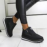 Женские ботинки зимние - кроссовки на меху (Бт-5ч-3), фото 2