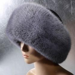 Женская меховая шапка Москвичка из песца