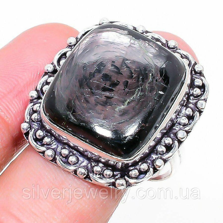Кольцо с ГИПЕРСТЕНОМ (натуральный). Размер 19,5