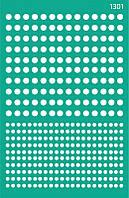 """Трафарет самокл. фоновый """"Абстракция"""" 13*20 см, №1301"""