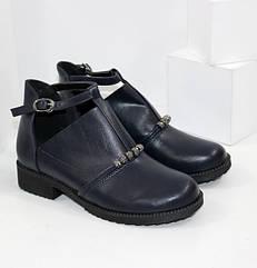 Туфли на девочку синего цвета (32-37 рр.)