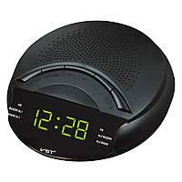 Радио-будильник vst-903-2, led-дисплей, зеленые цифры, автопоиск радио, автоотключение, отсрочка сигнала