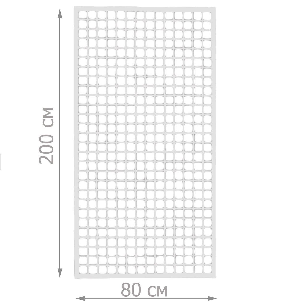 Торговая сетка стенд в рамке 80/200см профиль 15х15 мм (от производителя оптом и в розницу)