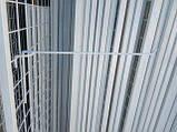 Торговая сетка стенд в рамке 80/200см профиль 15х15 мм (от производителя оптом и в розницу), фото 2