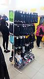 Торговая сетка стойка на ножках 200/80см профиль17х17 мм (от производителя оптом и в розницу), фото 2