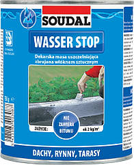 Мастика Для Кровли Wasser Stopp 750 мл SOUDAL
