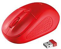 Мышь Trust Primo Wireless Mouse Red, фото 1