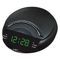 Радио-будильник vst-903-4, led-дисплей, салатовый, автопоиск радио, автоотключение, отсрочка си