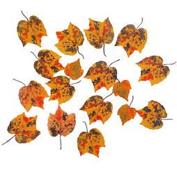 Листя калини осінні помаранчеві (50 шт. в уп.)