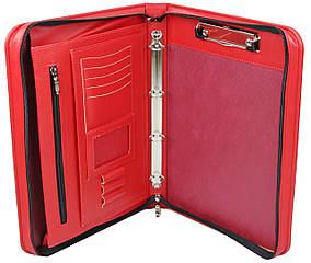 Деловая папка из искусственной кожи Portfolio Красный (Port03N red)