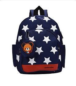 Рюкзак детский Bear Темно-синий (0009)