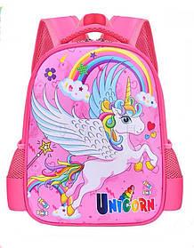 Рюкзак школьный Unicorn Розовый (0014)