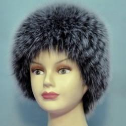 Женская меховая шапка Вязаный из песца