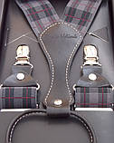 Чоловічі підтяжки Paolo Udini для брюк і джинсів, фото 4