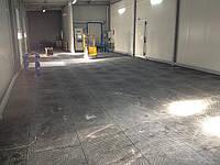 Модульные напольные покрытия ПВХ для складов