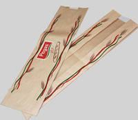 Пакет с п/п окном 430х120х50х50 (Бурый крафт)