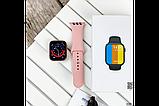 Смарт годинник Фітнес браслет трэккер Smart Watch NK03 пульсометром тонометром IP67 чорні + Подарунок, фото 3