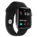 Смарт годинник Фітнес браслет трэккер Smart Watch NK03 пульсометром тонометром IP67 чорні + Подарунок, фото 5