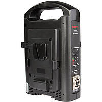 Зарядное устройство SWIT S-3802S V-Mount Charger/Adapter for Sony and SWIT V-Mount (2-Channel) (S-3802S), фото 1