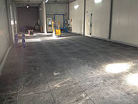Сборные полы Replast для склада