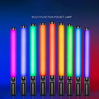 Лампа LED для селфи, лампа для фотосессий, видеосъемки и цветных эффектов с пультом led stick RGB