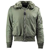 B-15 Slim Fit Alpha Industries мужская летная куртка слим фит (Альфа индастриз), фото 1
