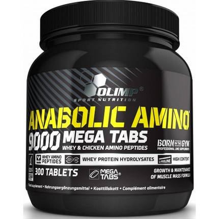 Аминокислота Olimp Anabolic Amino 9000 300 таблеток, фото 2