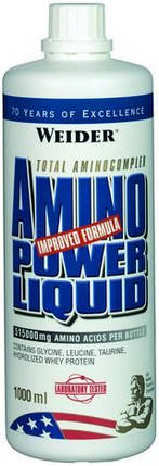 Аминокислота Weider Amino Power Liquid 1000 мл, фото 2
