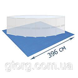 Підстилка для басейну Bestway 58002, 396 х 396 см, квадратна