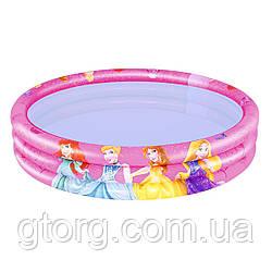 Дитячий надувний басейн Bestway 91047 «Принцеси», 122 х 25 см
