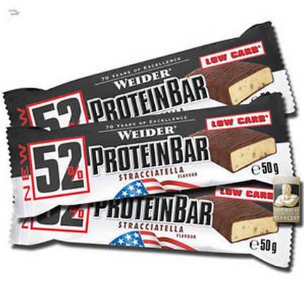 Батончик Weider 52% Protein Bar 50 г, фото 2