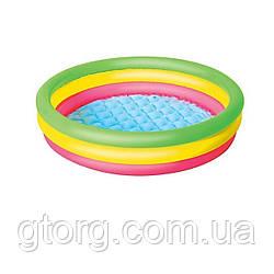 Дитячий надувний басейн Bestway 51104, 102 х 25 см