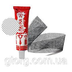 Ремонтый набор IntexPool 32410-2, жидкий ПВХ 25 г, армирующий корд