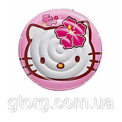 Дитячий надувний матрац Intex 56513 «Hello Kitty», 137 см