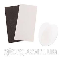 Заплатки для джакузи СПА Intex 11848. (Ткань ПВХ - 2 шт, размер 15 х 8 см; прозрачные - 2 шт, размер 9 х 5 см)