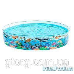Уцінка! Басейн дитячий надувний Intex 58472 (Stock) «Океанський риф», 244 х 46 см
