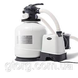 Пісочний фільтр насос Intex 26652, 12 000 лч, 55 кг