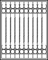 Решетка прямая