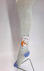 """Дитячі колготки PLAYGROUND (Mio Senso) ріст 116-122 """"Котик з нитками"""""""