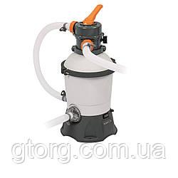 Пісочний фільтр насос Bestway 58515 - 1, 3 028 л/годину, 8.5 кг