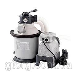 Пісочний фільтр насос Intex 28644, 4 500 л/год