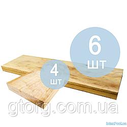 Підніжки під стійки IntexPool 55718, під стійки прямокутного басейну 220 х 150 х 60 см, 10 шт (6 4 шт)