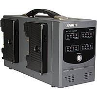 Зарядний пристрій SWIT D-3004A Gold Mount Charger for Gold Mount Batteries (4-Channel) (D-3004A), фото 1
