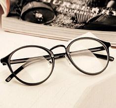 Очки  имиджевые, прозрачное стекло, не для зрения