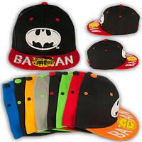 """Модная кепка для подростка с прямым козырьком """"BATMAN"""""""