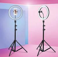 Кольцевая LED лампа AL-33 (33см) Ring Supplementary Lamp Профессиональное освещение, LED лампа для селфи