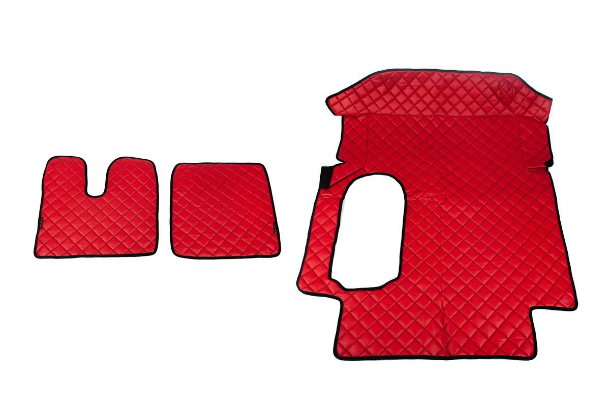 Коврики в салон Man TGA красные (автомат)
