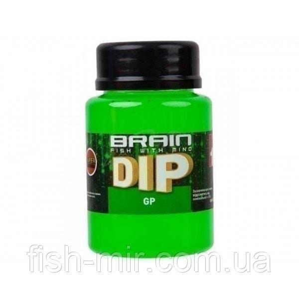 F1 Green Peas (зеленый горох) 100ml дип для бойлов Brain